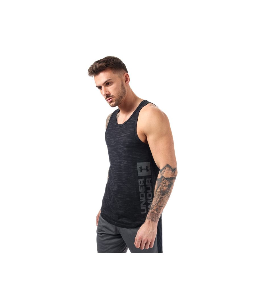 Image for Men's Under Armour UA Sportstyle Graphic Tank in Black
