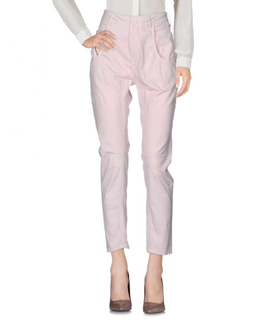 Image for Trousers Women's Manila Grace Light Pink Cotton