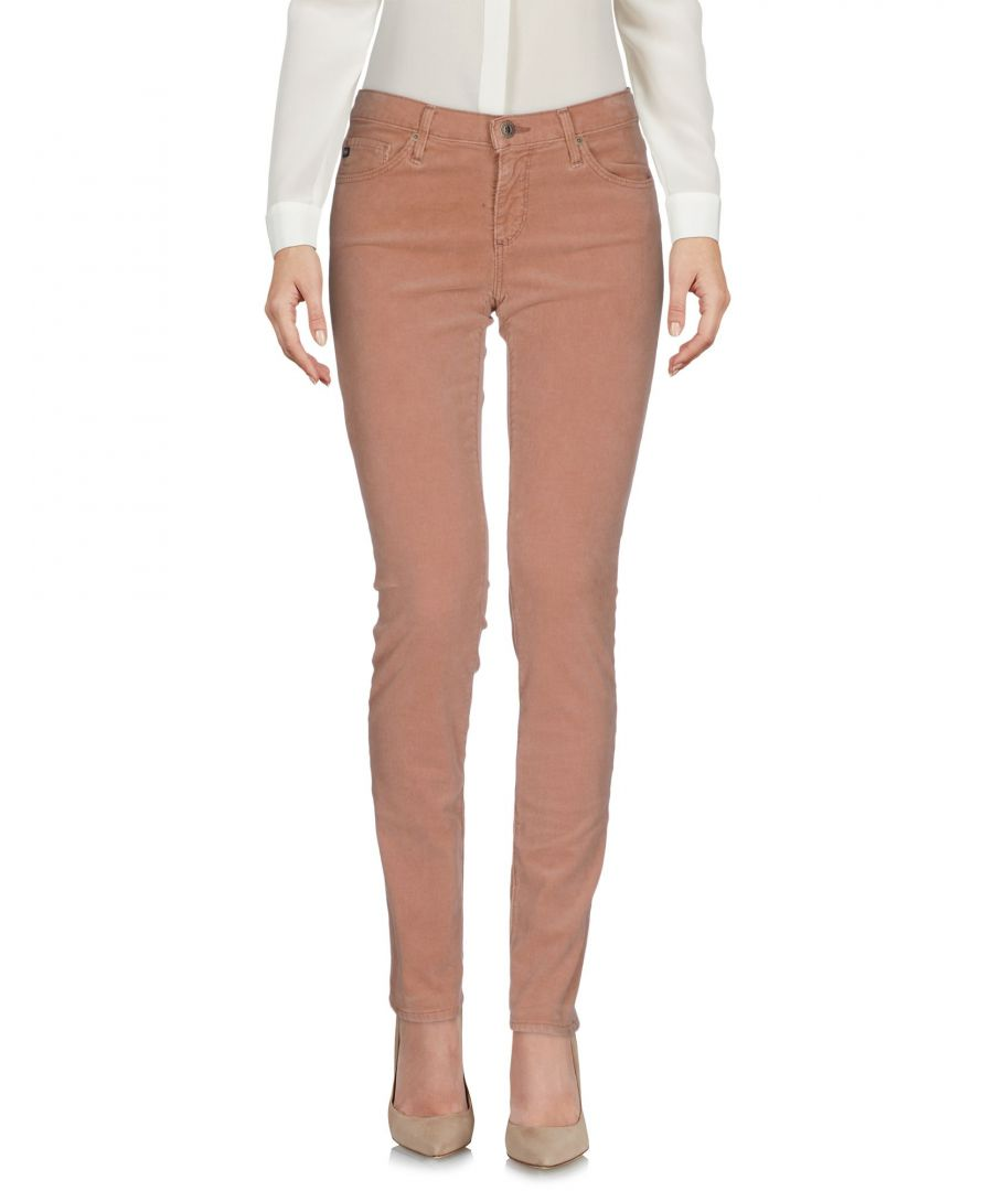 Image for Ag Jeans Light Brown Cotton Corduroy Trousers