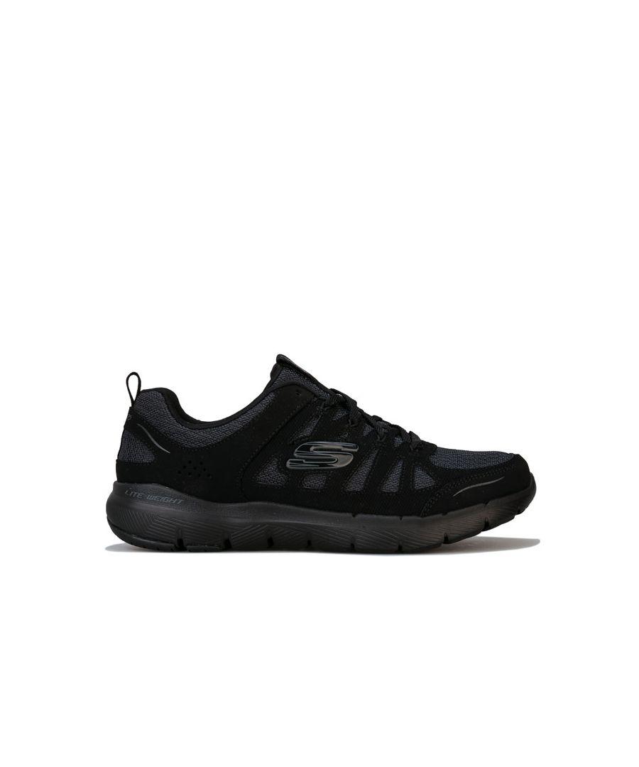 Image for Women's Skechers Flex Appeal 3.0 Billow Trainers in Black