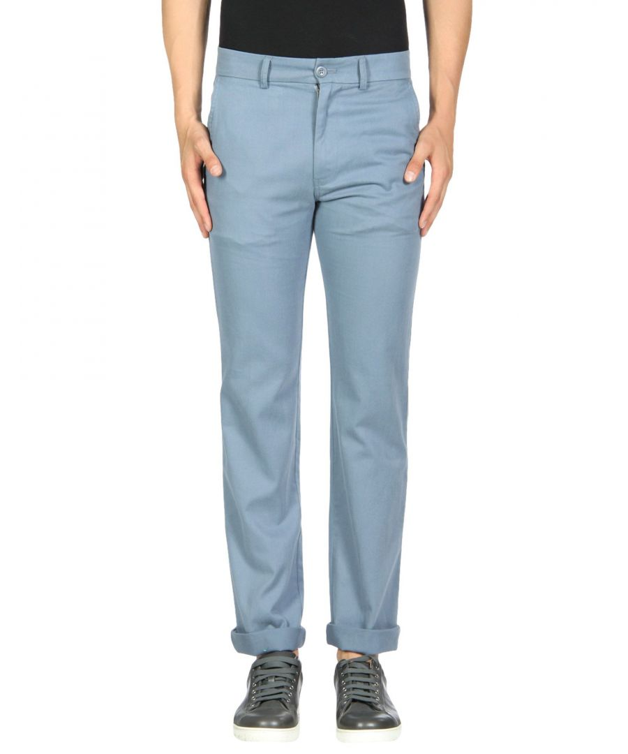 Image for TROUSERS F.S.C. Freemans Sporting Club Pastel blue Man Cotton