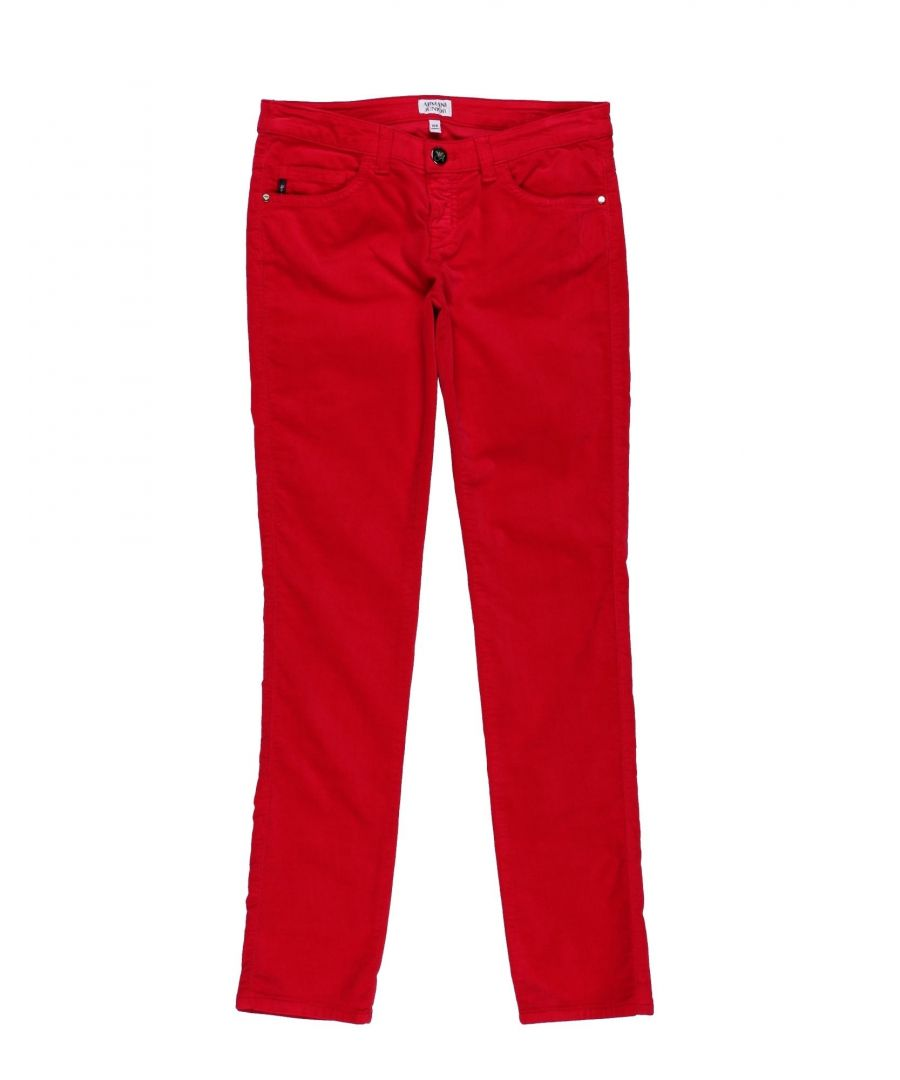 Image for TROUSERS Armani Junior Red Girl Cotton