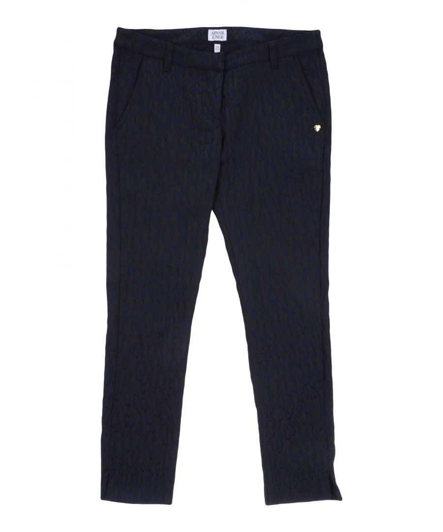 Image for TROUSERS Armani Junior Dark blue Girl Polyester
