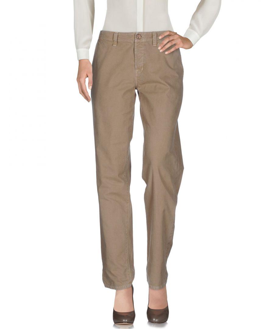 Image for J Brand Khaki Cotton Chino Trousers