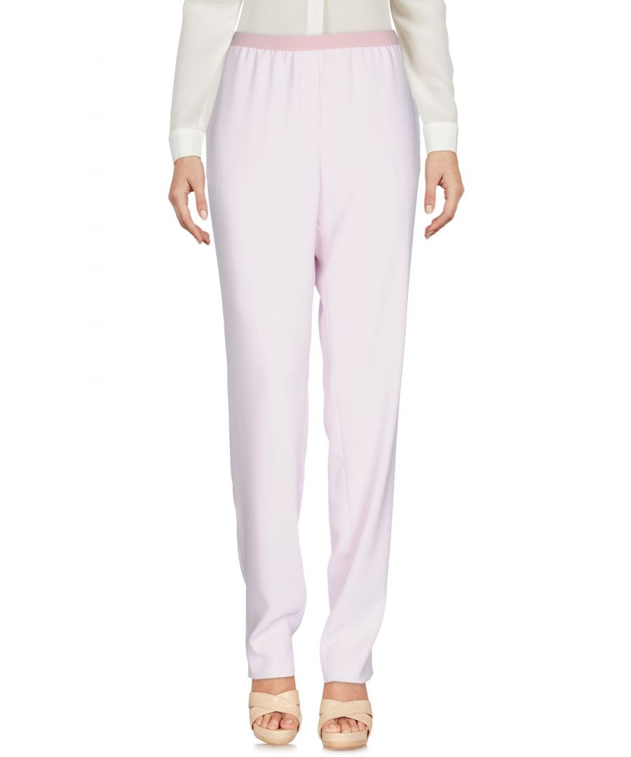 Image for Emporio Armani Pink Tapered Leg Trousers