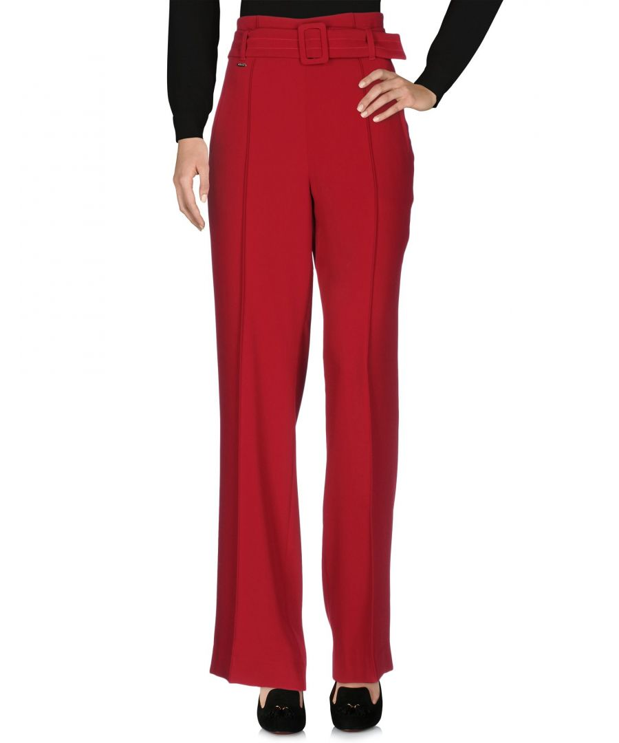 Image for Nenette Brick Red Tailored Wide Leg Trousers