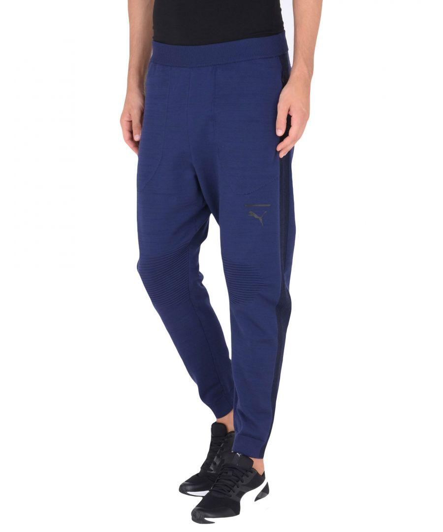 Image for Puma Dark Blue Tapered Leg Joggers