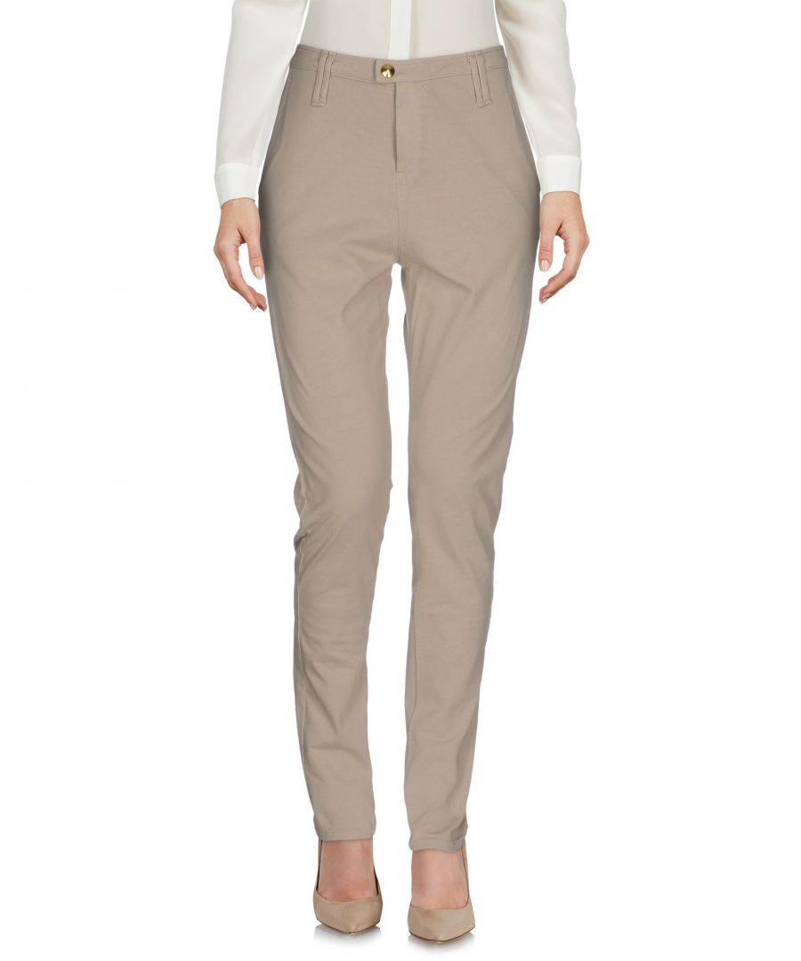 Image for Cycle Beige Cotton Chino Trousers