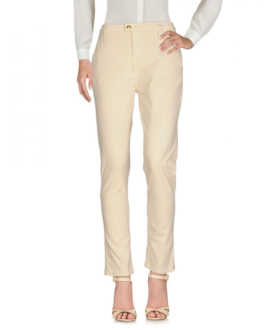Image for Cycle Yellow Cotton Chino Trousers