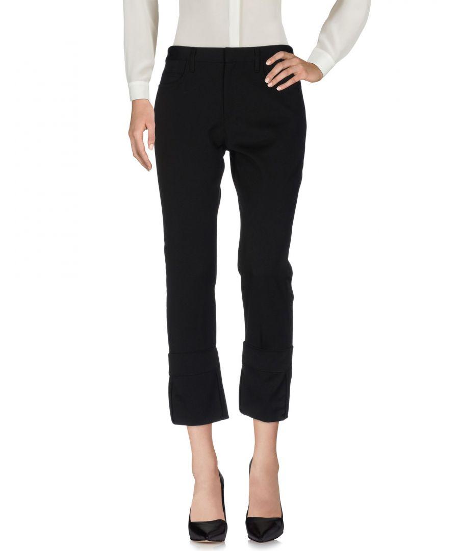 Image for Maison Margiela Black Wool Trousers