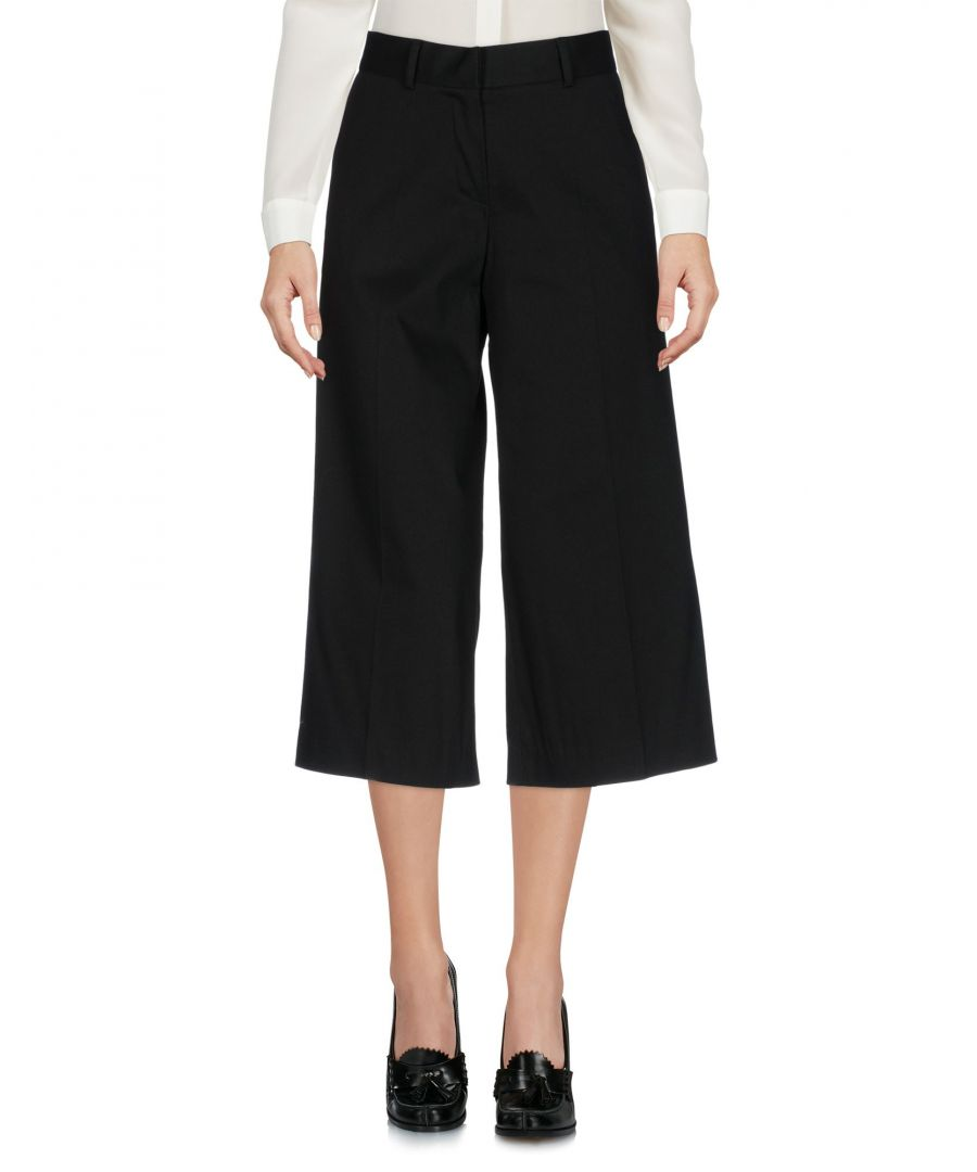 Image for Boule De Neige Black, White Cotton Capri Trousers