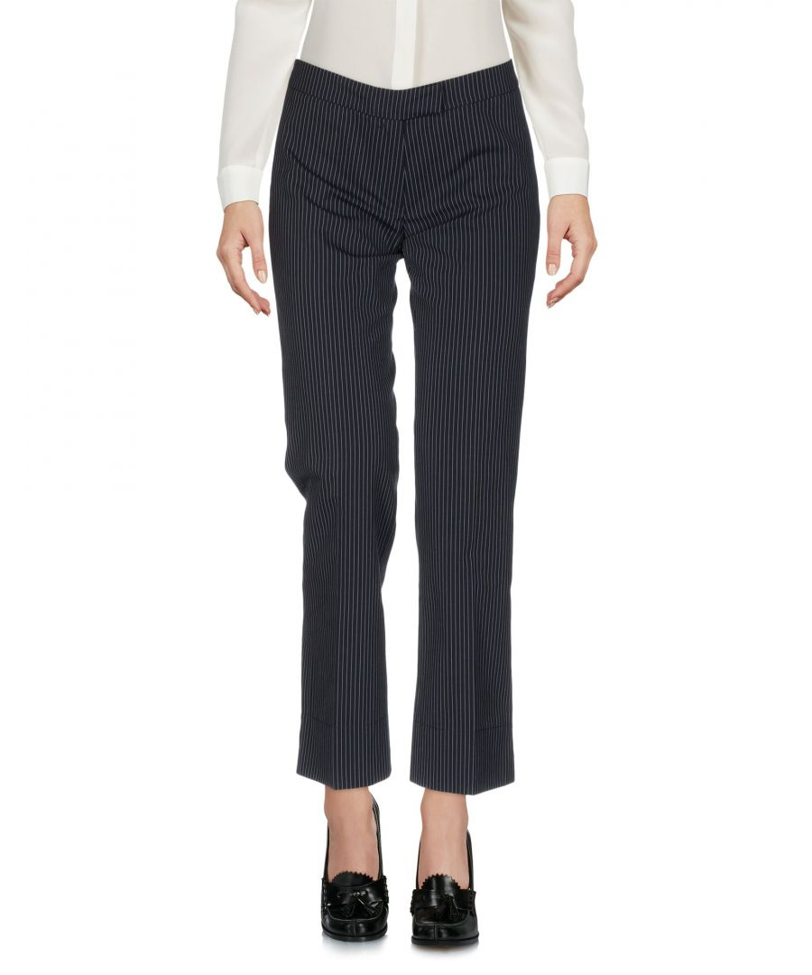 Image for Boule De Neige Dark blue, Steel grey Cotton Trousers