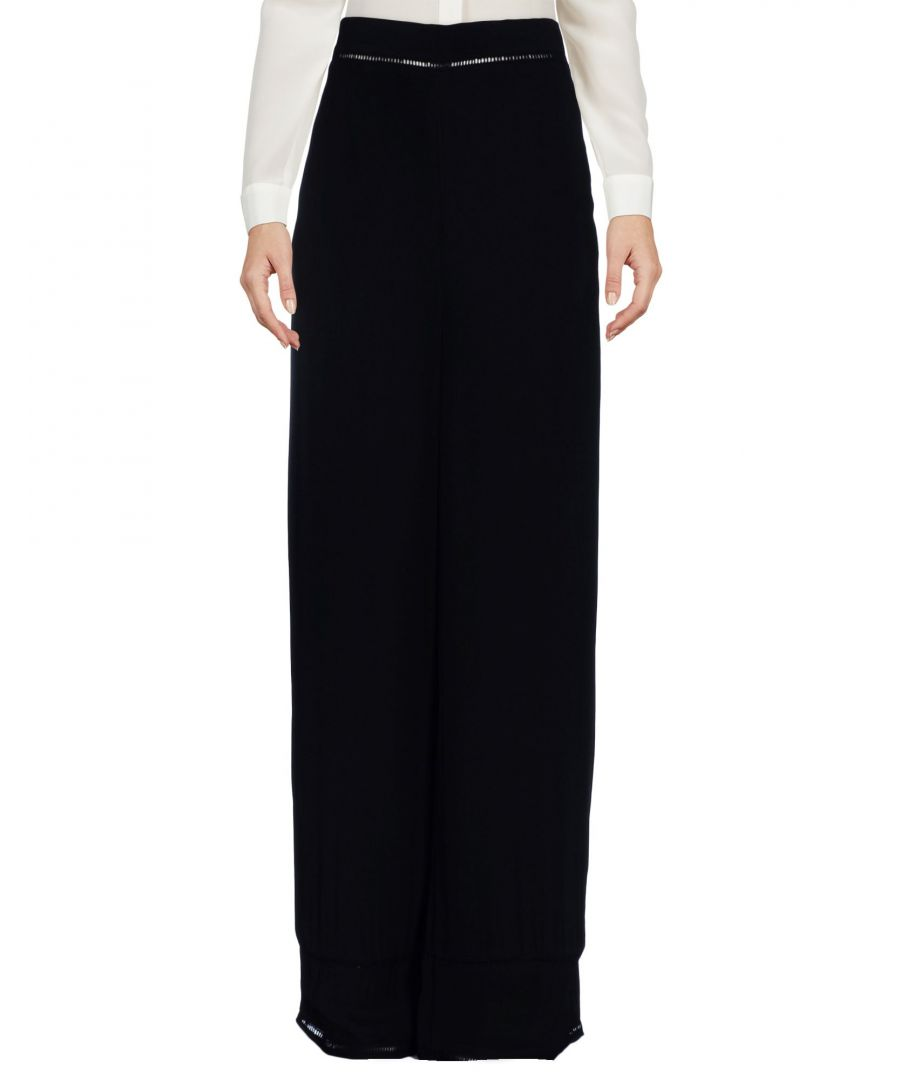 Image for Finders Keepers Black Crepe Full Length Skirt
