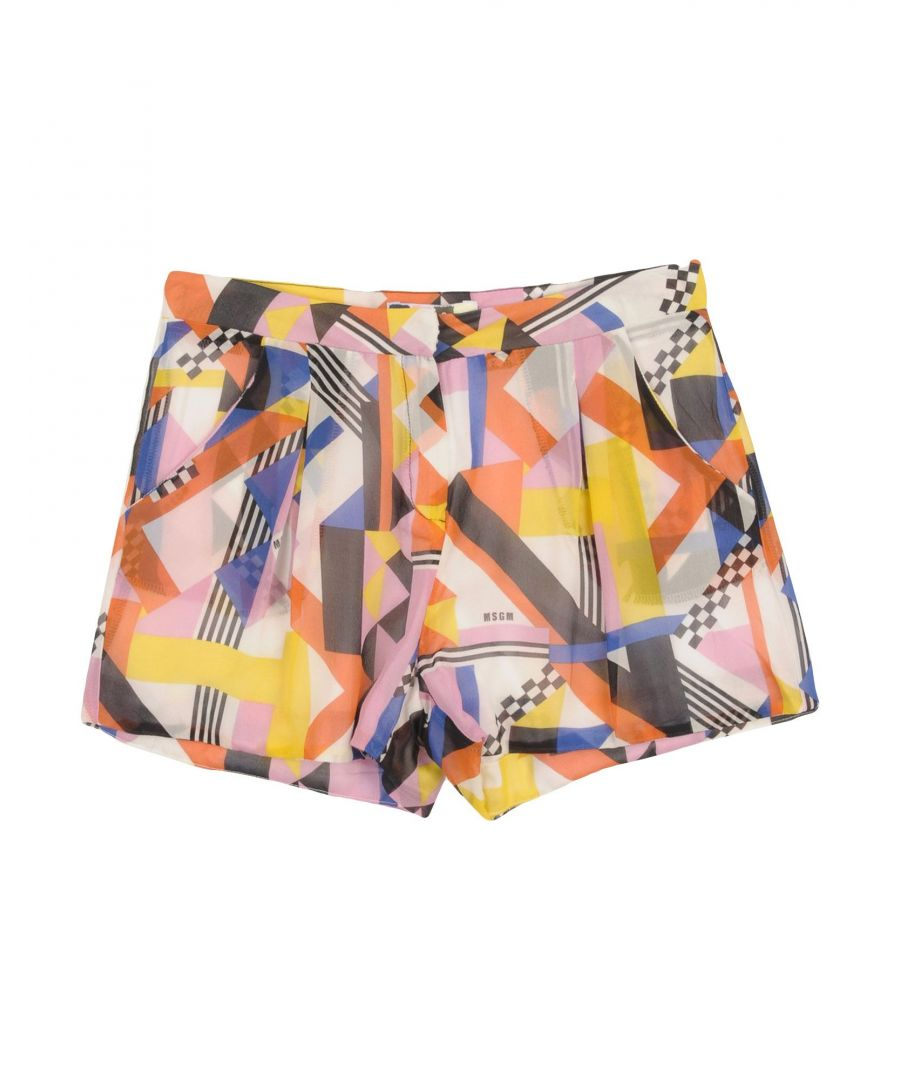 Image for TROUSERS Msgm Orange Girl Silk
