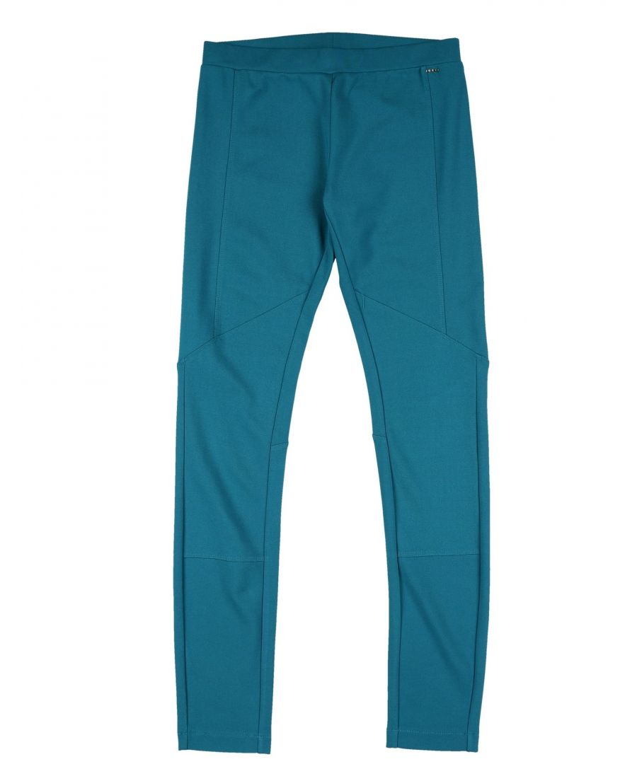 Image for TROUSERS Girl Pinko Up Deep jade Viscose
