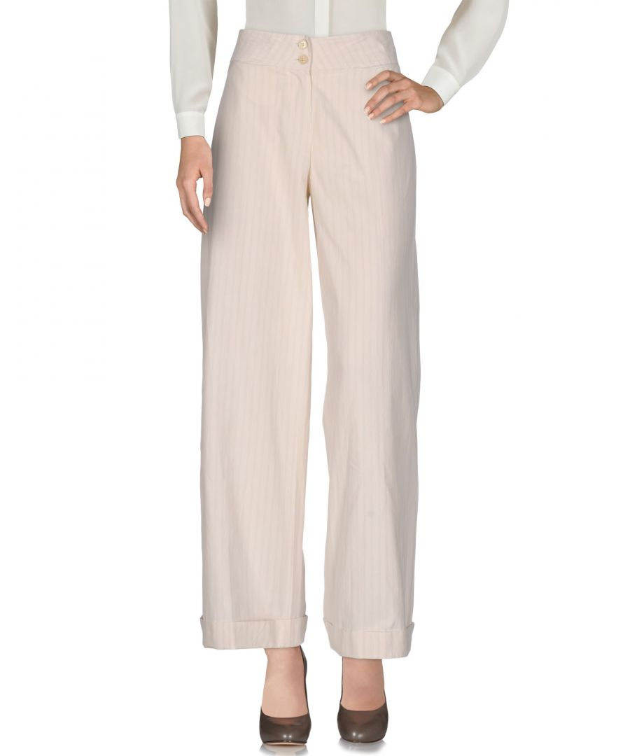 Image for Boule De Neige Beige Cotton Trousers