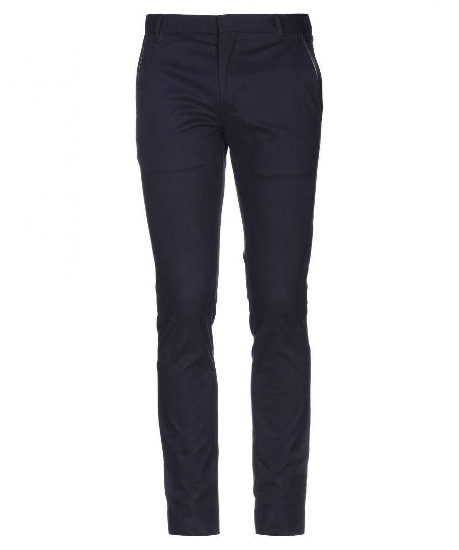 Image for Hugo Hugo Boss Dark Blue Cotton Trousers