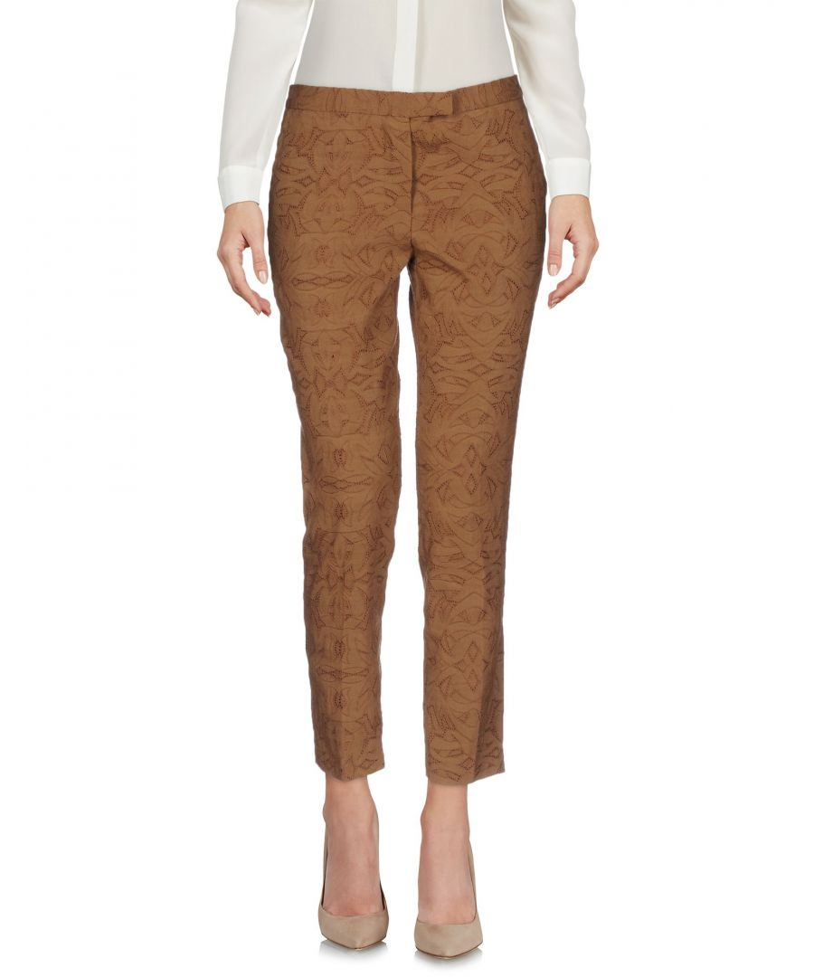 Image for Boule De Neige Camel Cotton Trousers