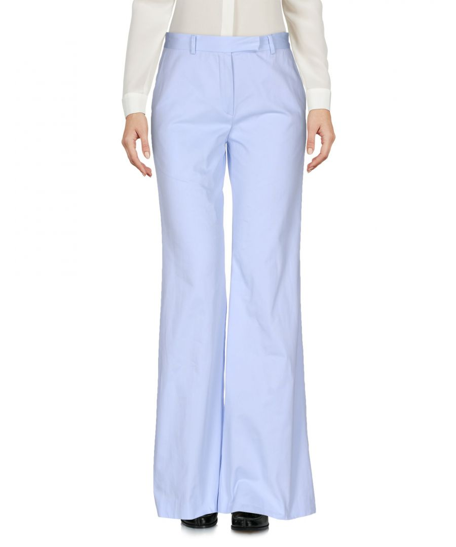 Image for Boule De Neige Sky blue Cotton Trousers