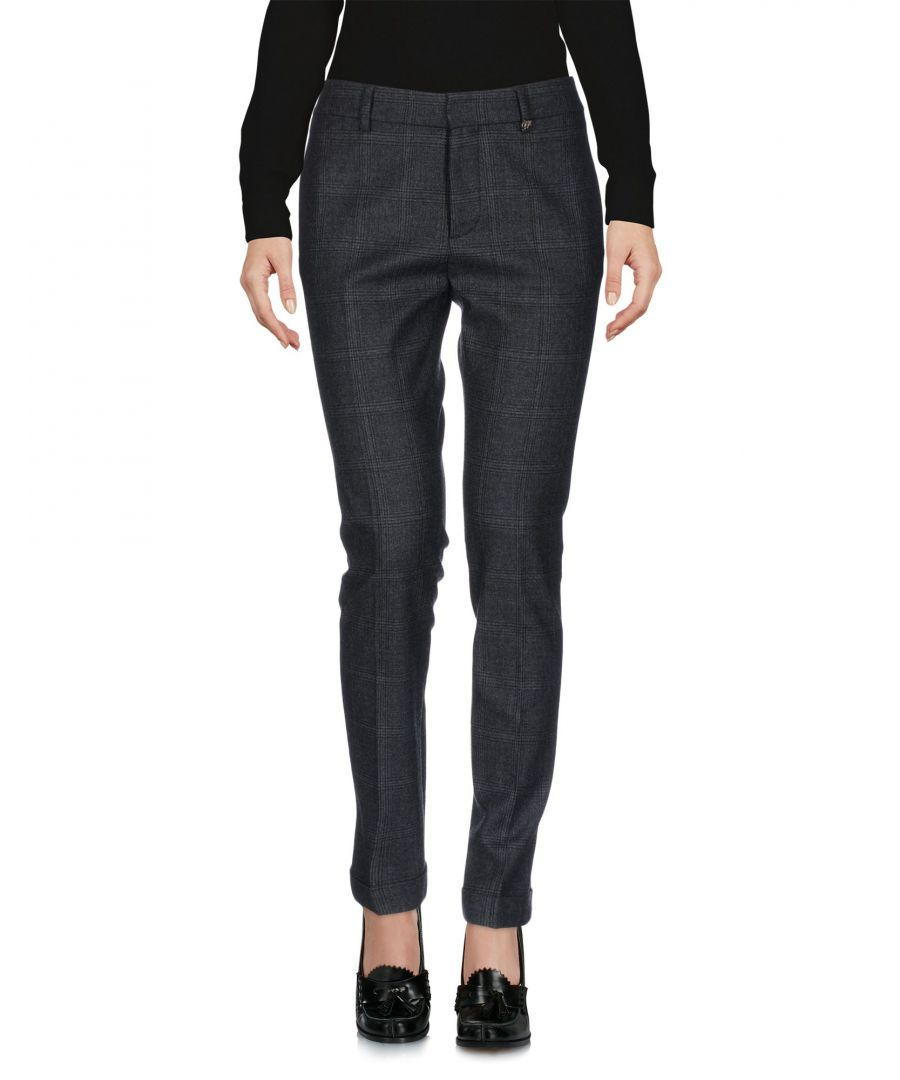 Image for Dsquared2 Steel Grey Virgin Wool Casual Trousers