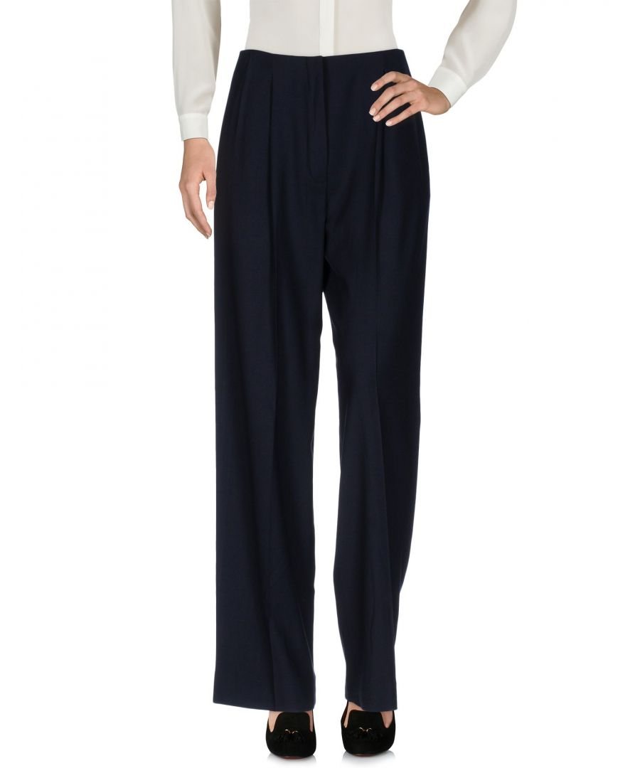 Image for Lanvin Dark Blue High Waisted Trousers