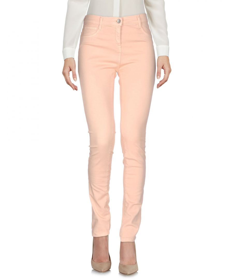 Image for TROUSERS Woman Twinset Pale pink Cotton