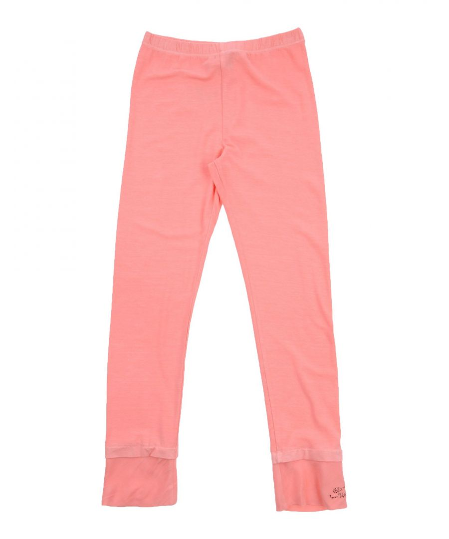 Image for TROUSERS Girl Twinset Salmon pink Viscose