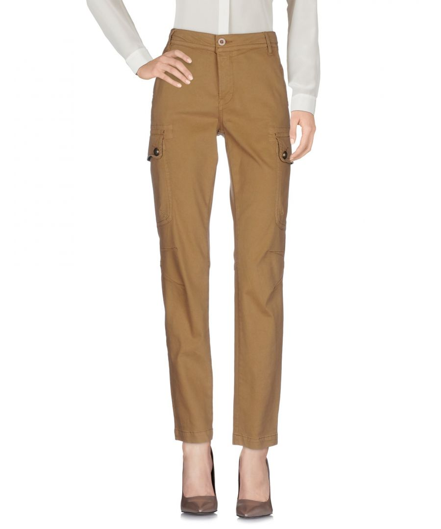 Image for Nolita Camel Cotton Trousers