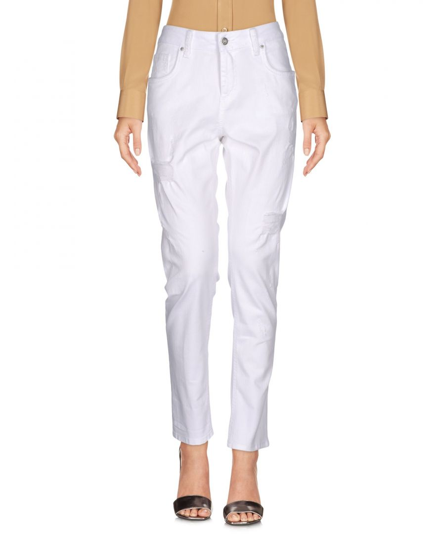 Image for TROUSERS Brian Dales White Woman Cotton