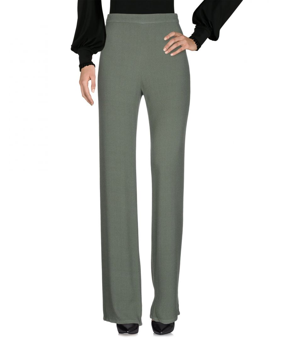 Image for Pink Memories Military Green Tailored Trousers
