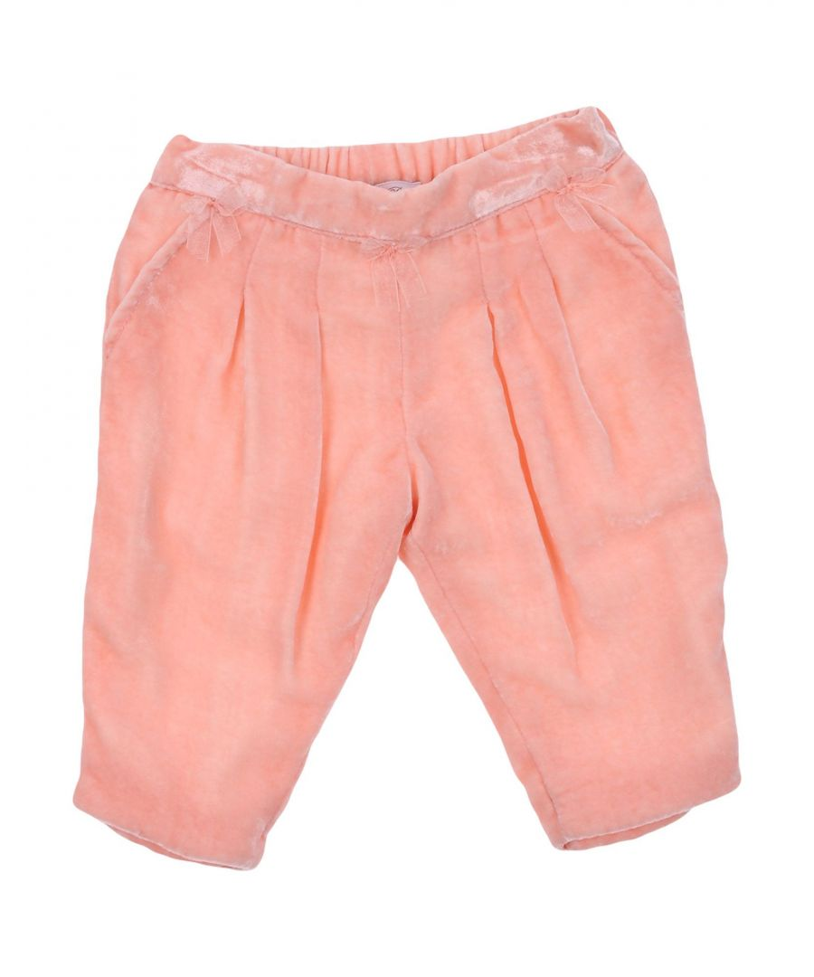 Image for TROUSERS Miss Blumarine Salmon pink Girl Viscose