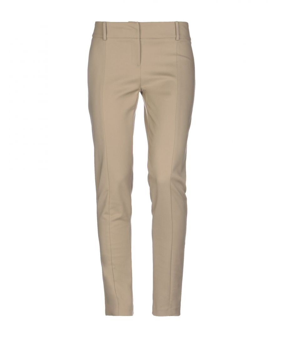 Image for TROUSERS Patrizia Pepe Light brown Woman Cotton