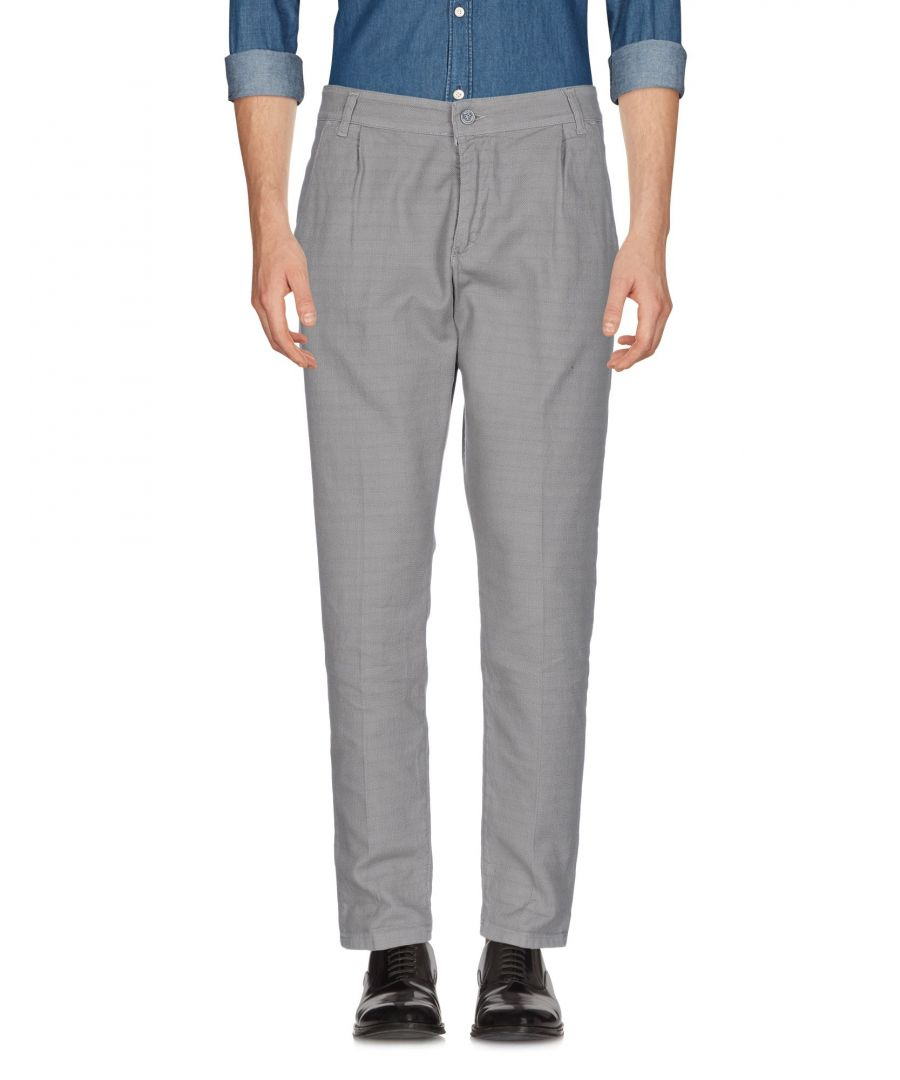 Image for TROUSERS Eredi Del Duca Grey Man Cotton