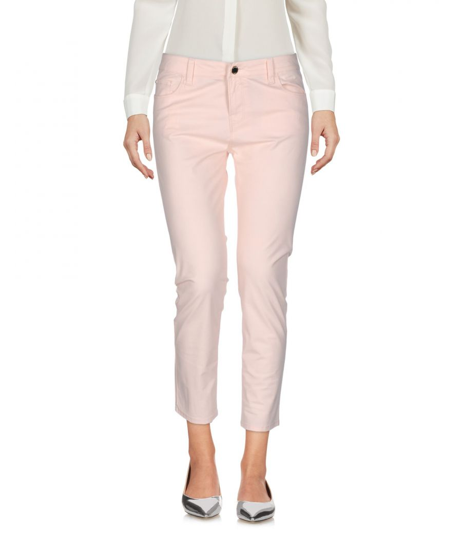 Image for Armani Jeans Woman 3/4-length trousers Light pink Cotton