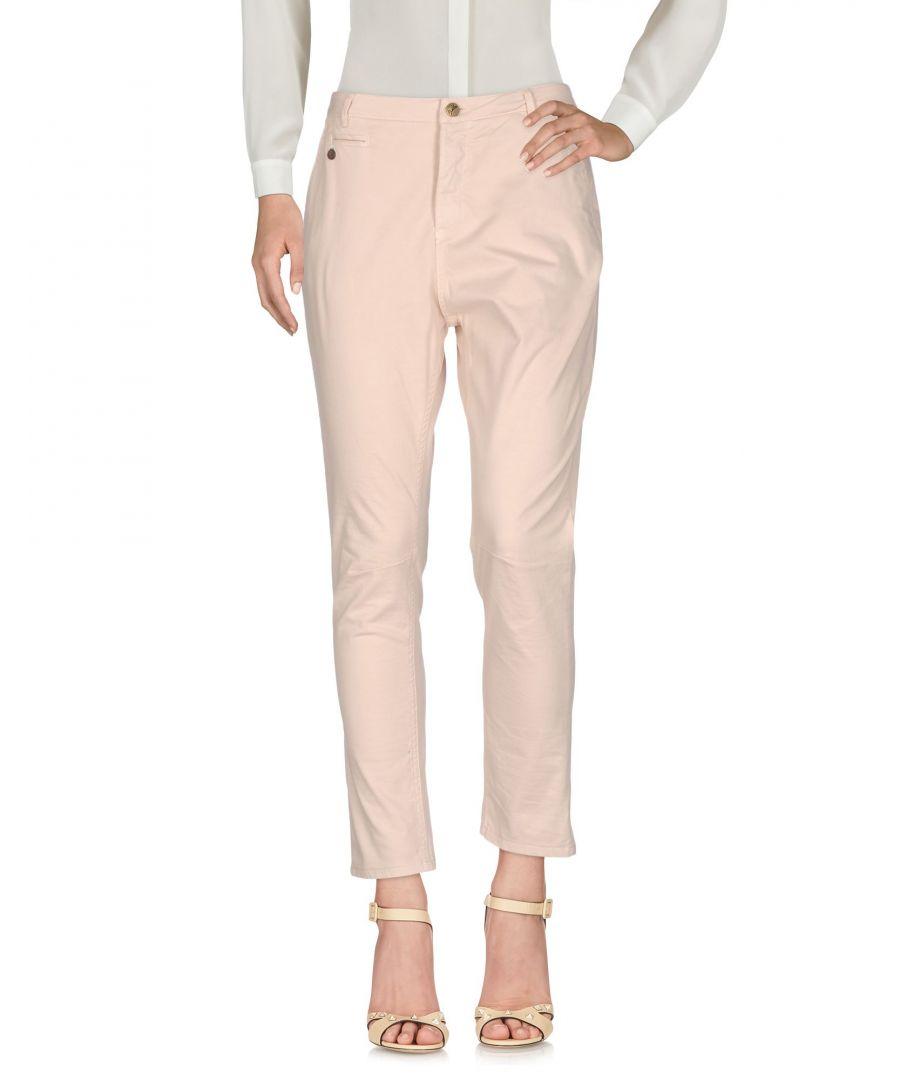 Image for TROUSERS Woman Manila Grace Denim Light pink Cotton