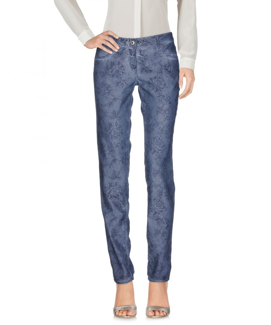 Image for TROUSERS Pepe Jeans Slate blue Woman Cotton