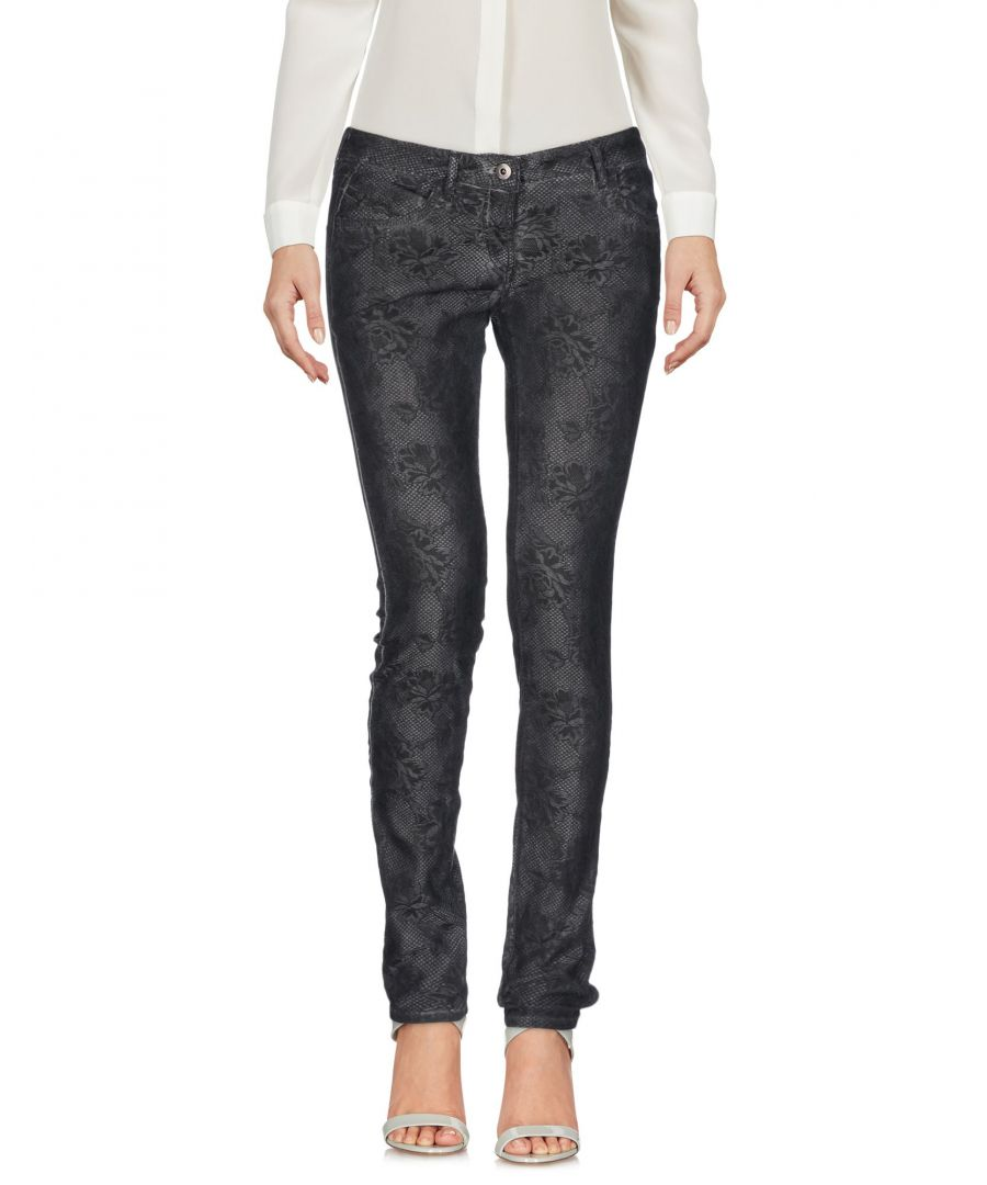 Image for Pepe Jeans Slate Blue Cotton Tapered Leg Trousers