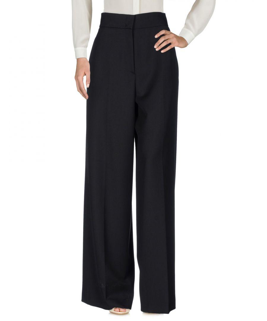 Image for Jil Sander Black Virgin Wool Trousers