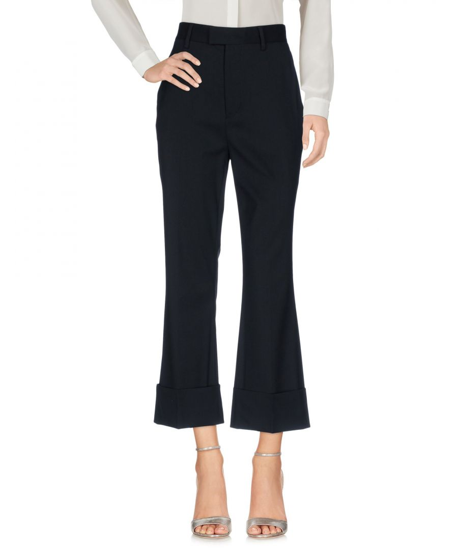 Image for Dsquared2 Black Virgin Wool Casual Trousers