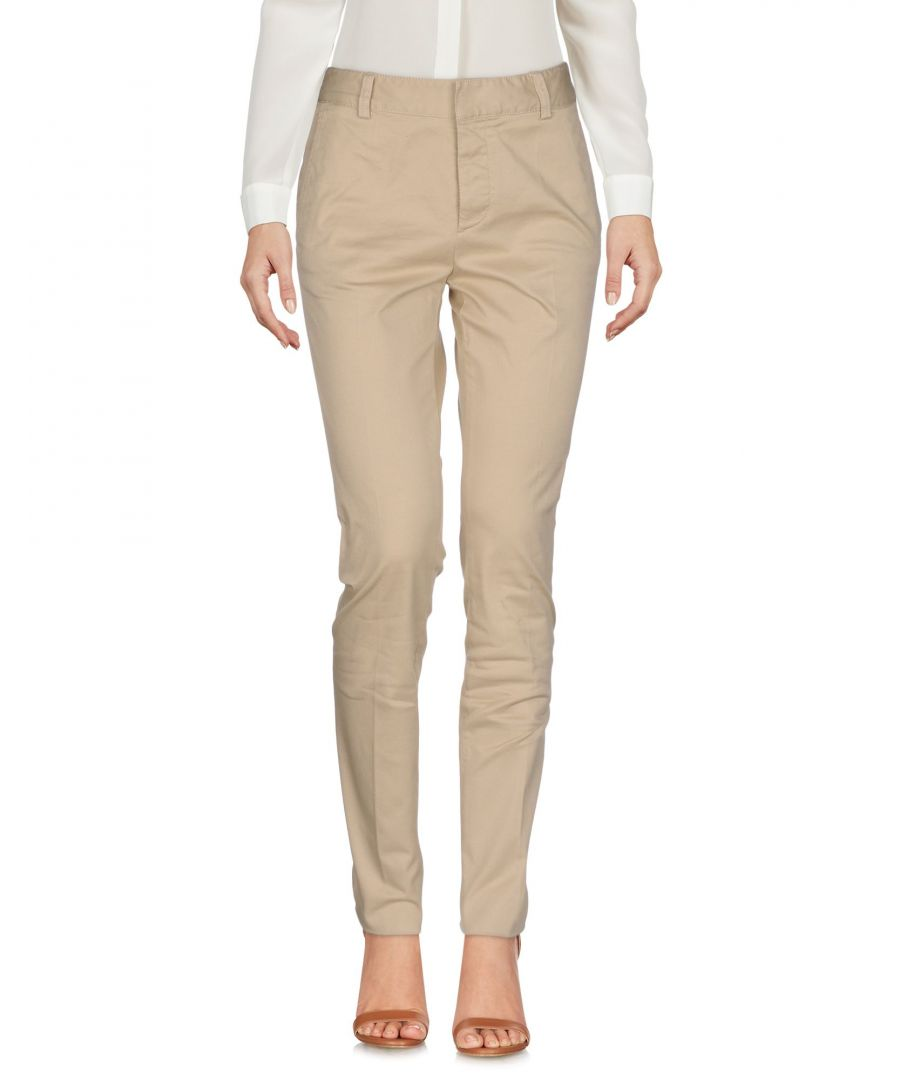 Image for Dsquared2 Sand Cotton Trousers
