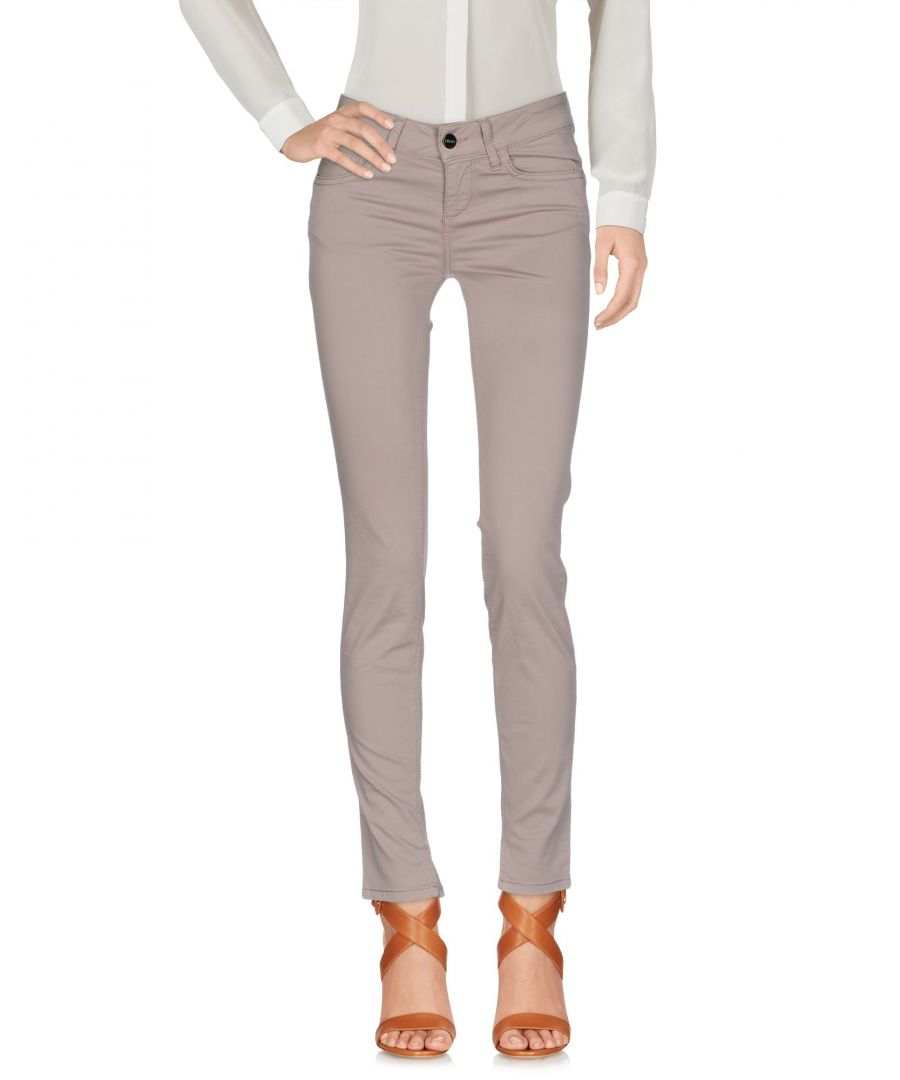 Image for Liu Jo Beige Cotton Trousers