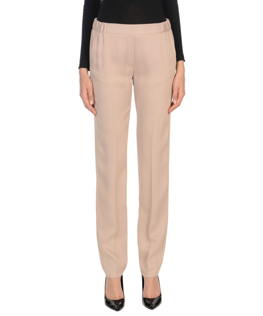 Image for TROUSERS Mm6 Maison Margiela Sand Woman Acetate