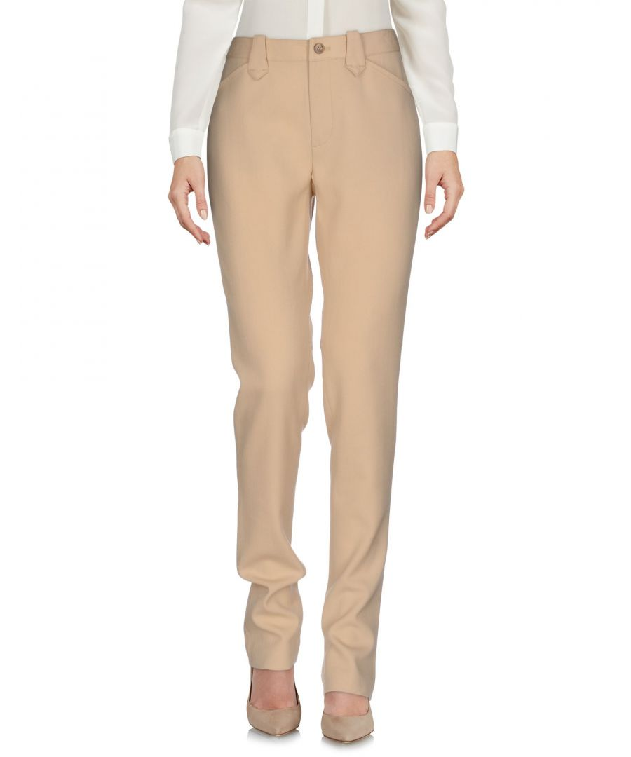Image for Polo Ralph Lauren Beige Wool Straight Leg Trousers