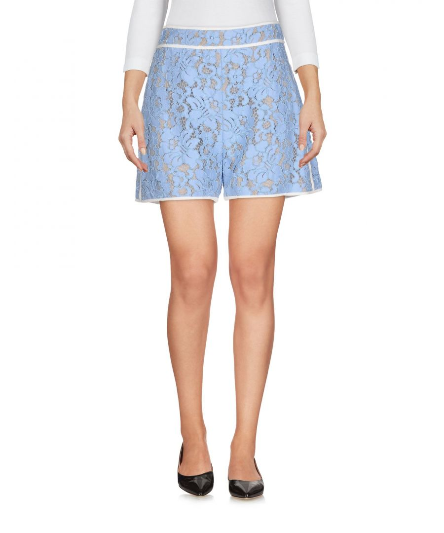 Image for MSGM Azure Lace High Waisted Shorts