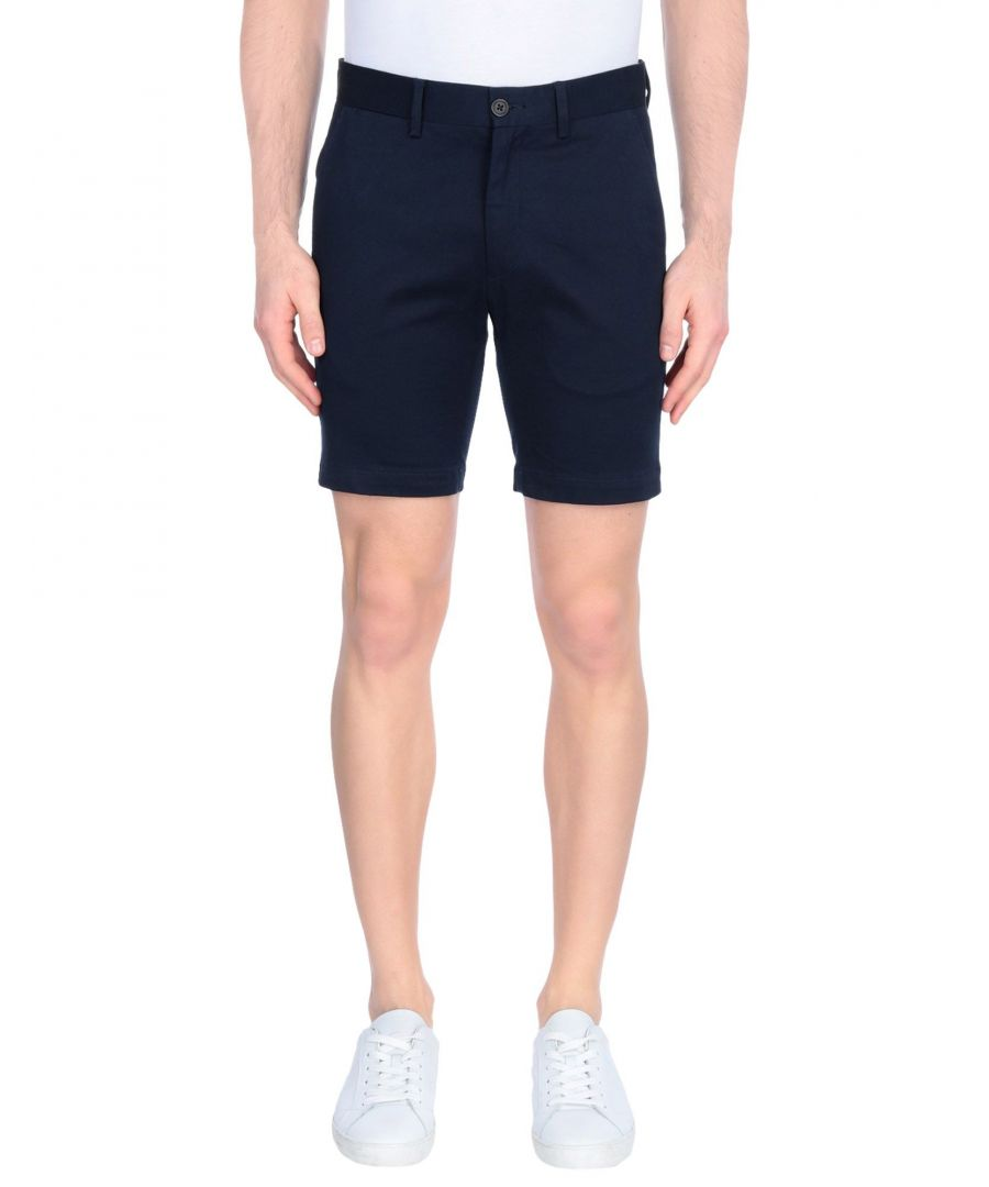 Image for Minimum Dark Blue Cotton Shorts