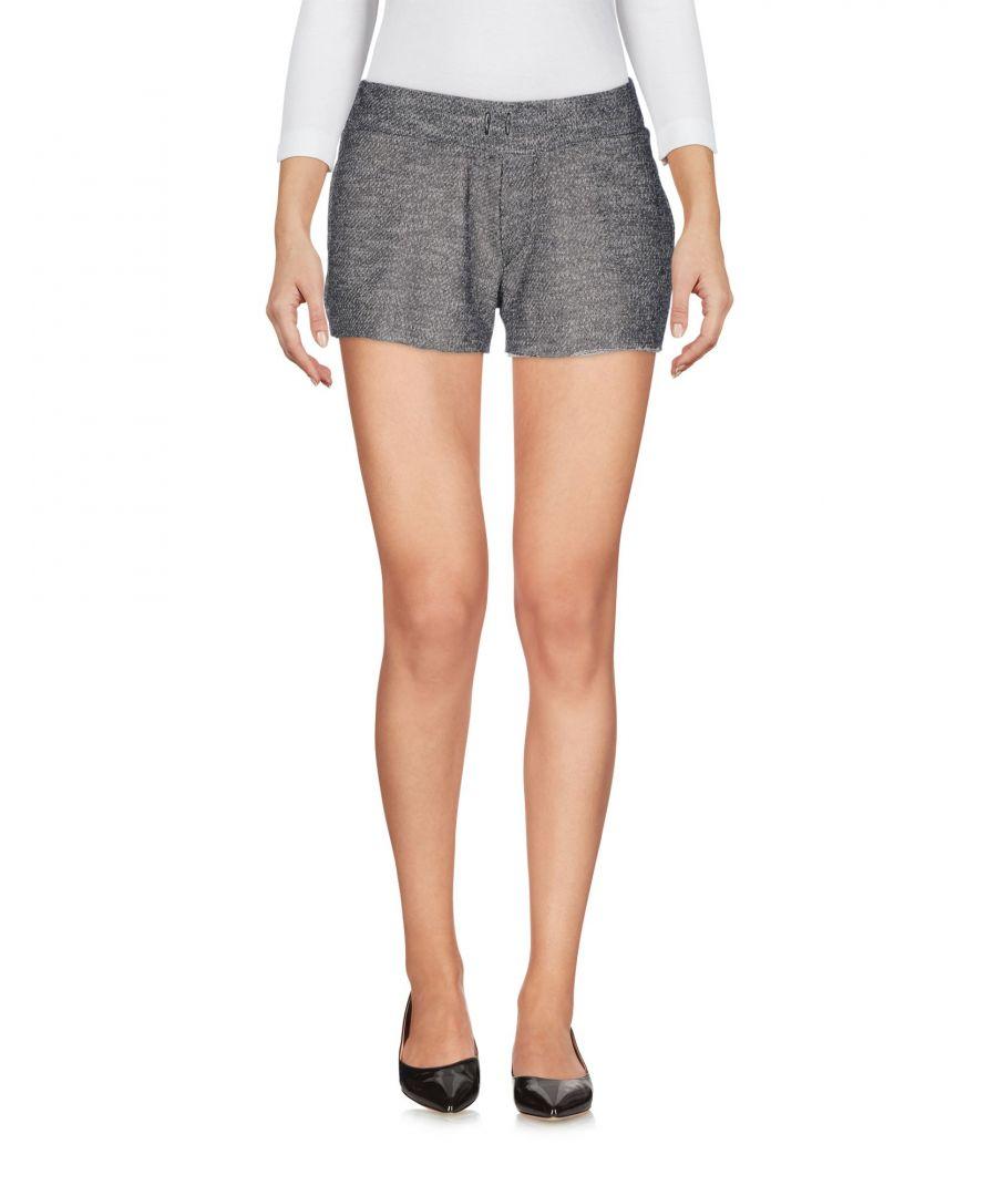 Image for Odi Et Amo Grey Cotton Shorts