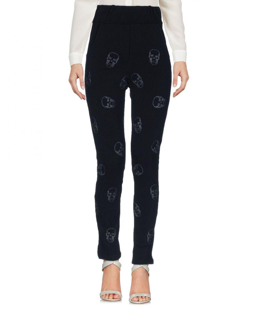 Image for Odi Et Amo Black Cotton Tapered Leg Joggers