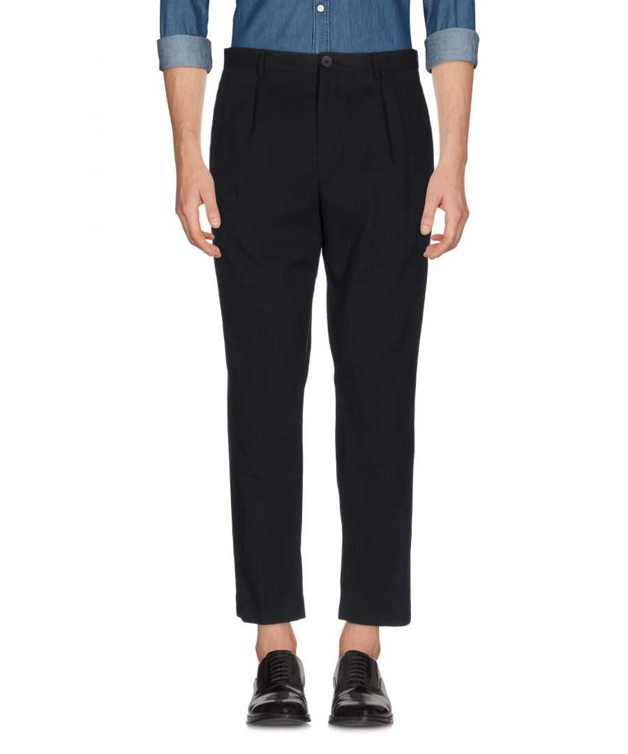 Image for TROUSERS Selected Homme Black Man Cotton