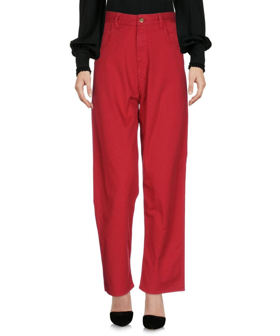 Image for Trousers Women's Cycle Red Cotton