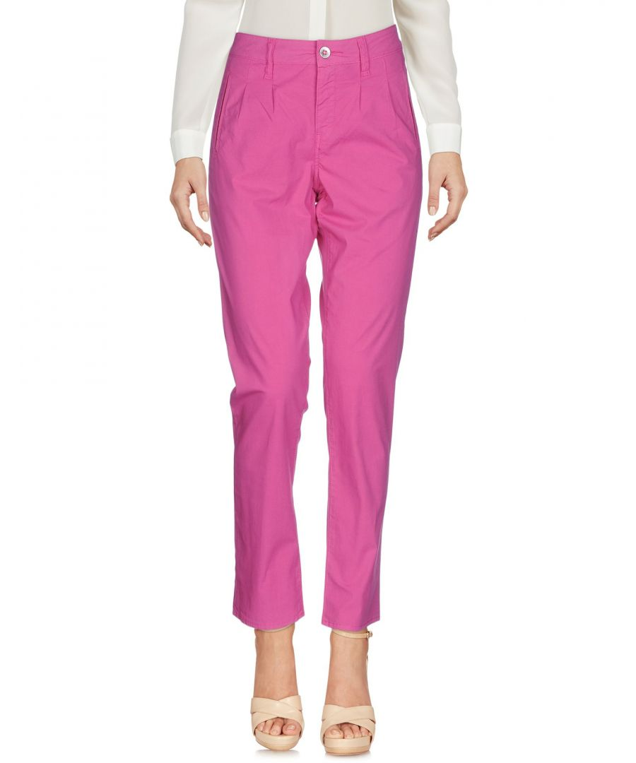 Image for Trousers Women's Cycle Fuchsia Cotton
